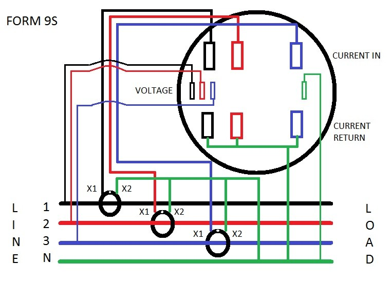 wiring diagram for smart relay wiring diagram for smart meter